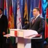 Игорь Руденя вступил в должность губернатора Тверской области. Инаугурация избранного губернатора состоялась  23 сентября в Тверском областном академическом театре драмы.